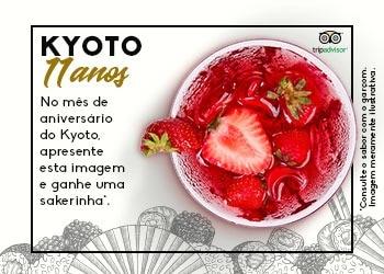 Kyoto aniversário